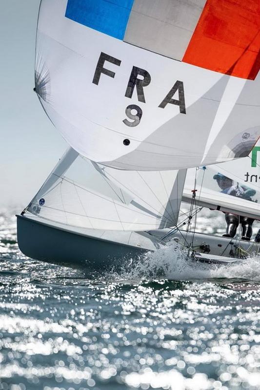 Camille Lecointre et Aloïse Retornaz - Equipe de France 470 © Ewan Lebourdais