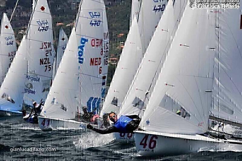 Camille Lecointre - Mathilde Geron - Championnat d Europe 2013 Italie © Gianluca Difazio